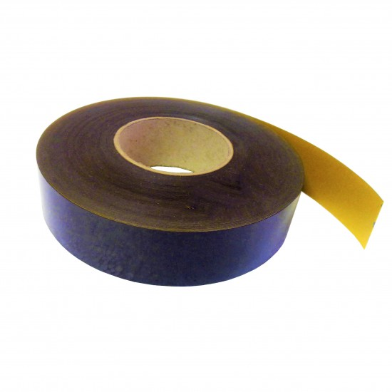 Banda magnetica, gros. 0,5mm, latime 40mm, cu adeziv - 30m