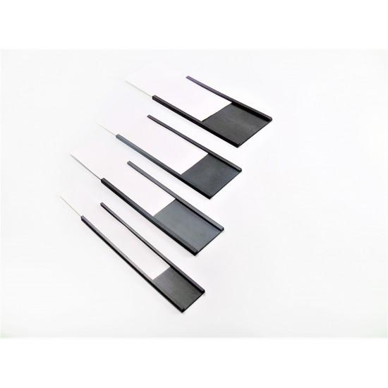 Eticheta magnetica, profil C latime 60mm, 1 metru liniar