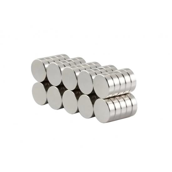Magnet neodim disc 10mm x 3mm, N48