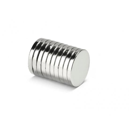 Magnet neodim disc 15mm x 2,5mm, N48