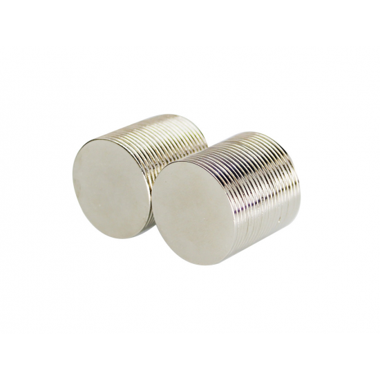Magnet neodim disc 25mm x 1mm, N48