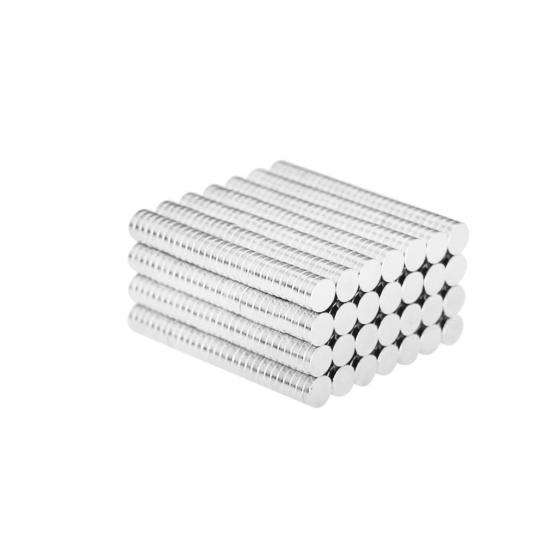 Magnet neodim disc 4mm x 1mm, N48