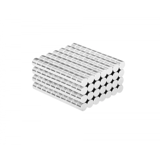 Magnet neodim disc 4mm x 3mm, N48