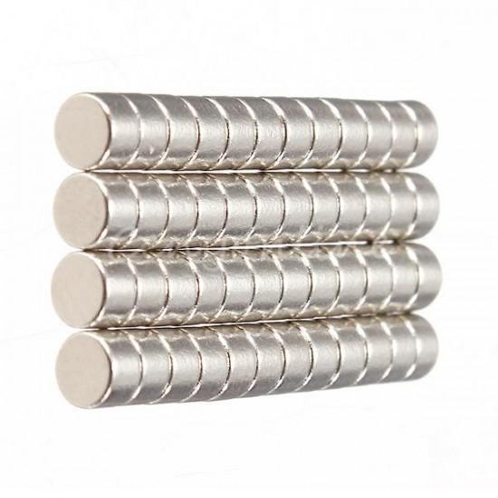 Magnet neodim disc 5mm x 3mm, N35 - lichidare stoc