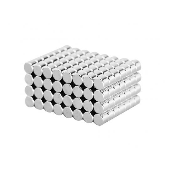 Magnet neodim disc 5mm x 4mm, N48