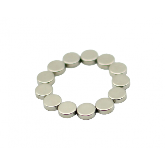 Magnet neodim disc 6mm x 2,5mm, N35, radial