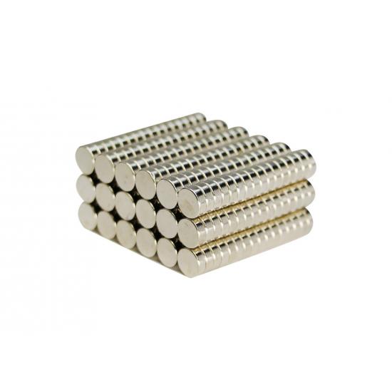 Magnet neodim disc 6mm x 2mm, N35