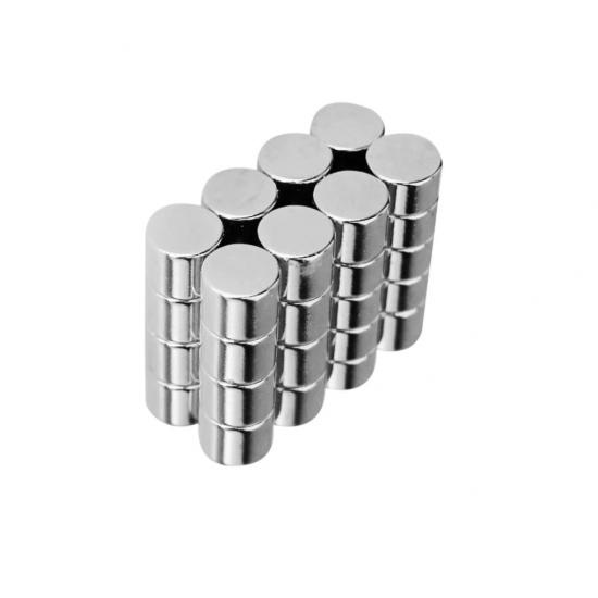 Magnet neodim disc 6mm x 6mm, N48