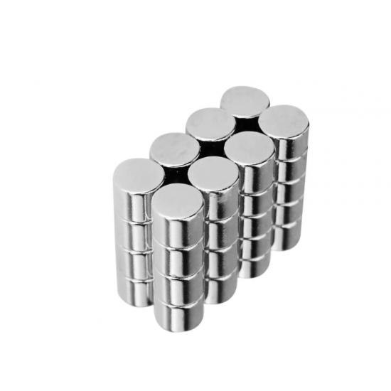 Magnet neodim disc 8mm x 8mm, N48