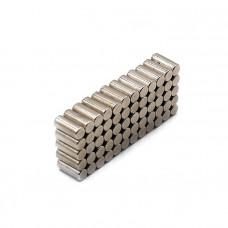 Magnet neodim cilindru 4mm x 8mm, N35, Radial