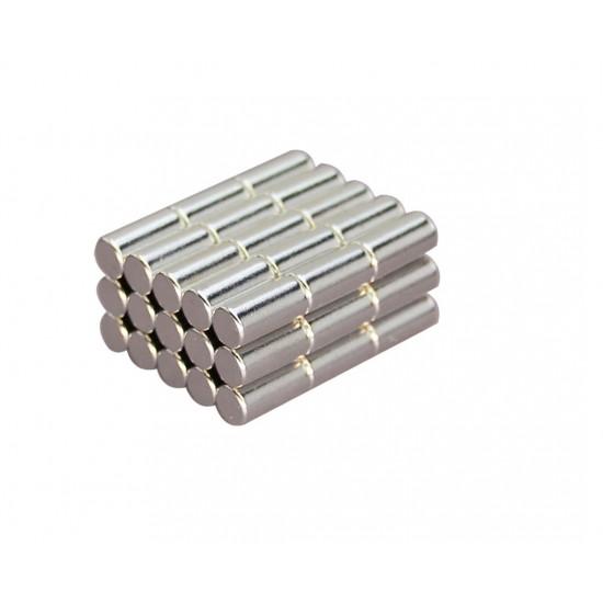 Magnet neodim cilindru 5mm x 10mm, N35 SH