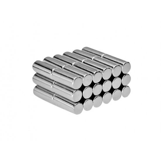 Magnet neodim cilindru 6mm x 15mm, N48