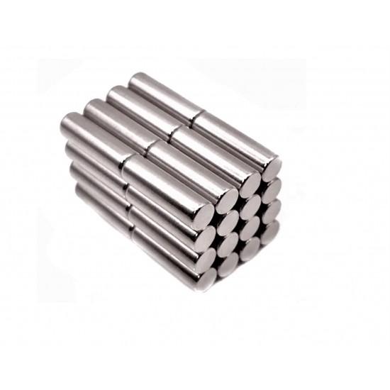 Magnet neodim cilindru 6mm x 20mm, N35