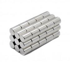 Magnet neodim cilindru 7mm x 10mm, N35
